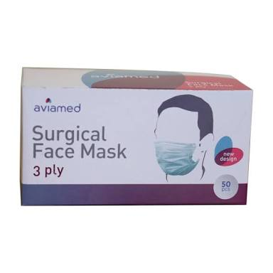 Pembelian Masker Earloop Aviamed IDR 25.000